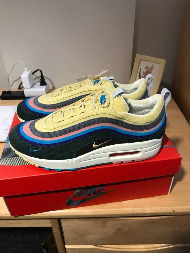 low priced 2ca98 95f8d 🔥 Ready Stock  Nike Air Max 1 97 Sean Wotherspoon, Men s Fashion ...
