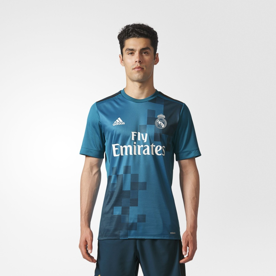 799015426 Real Madrid Third Football Jersey Soccer Jersey 17 18