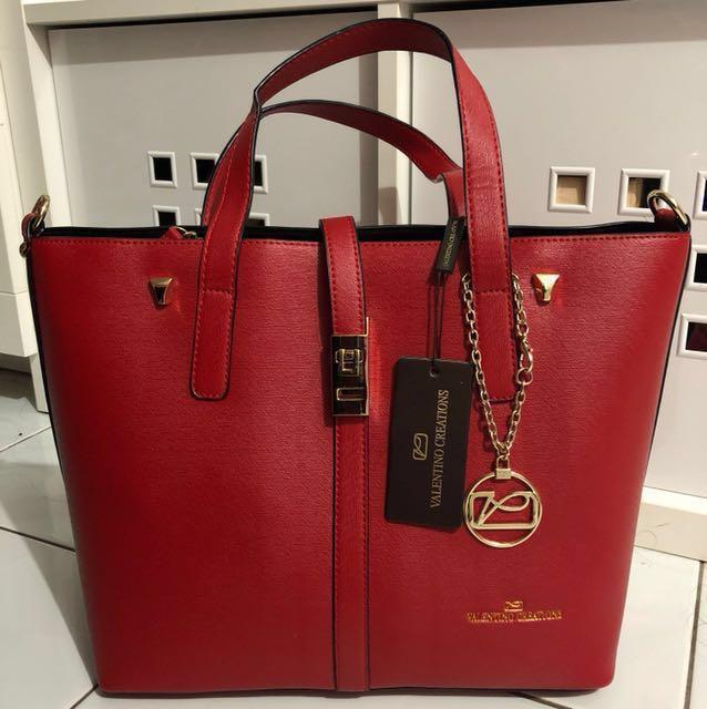 Red Valentino Creations Handbag Women S Fashion Bags Wallets On Carou