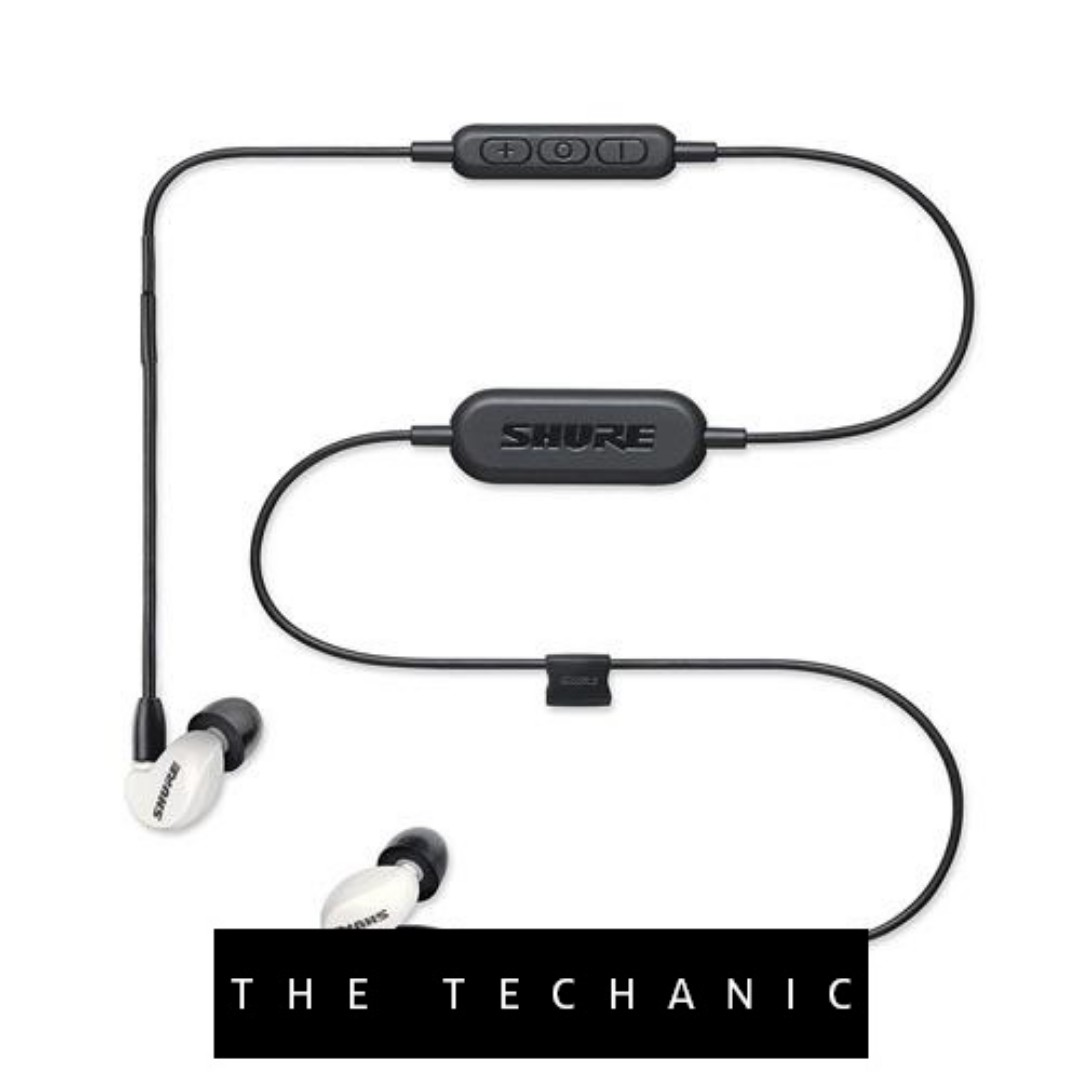 fae9fb2c7b6 SHURE SE215 SOUND ISOLATING EARPHONES SPECIAL EDITION WHITE (BLUETOOTH),  Electronics, Computer Parts & Accessories on Carousell
