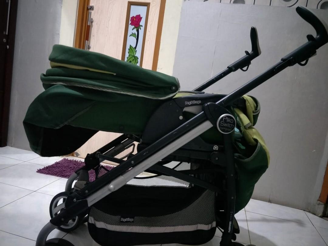 Stroller Bekas Pegperego Pliko Switch not Mothercare Babyelle Maclaren