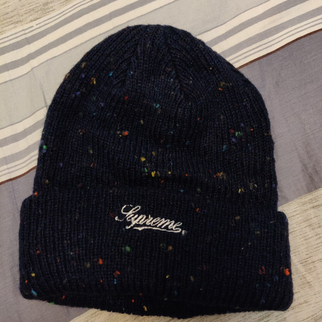 6d9844dd4 Supreme colored speckle beanie