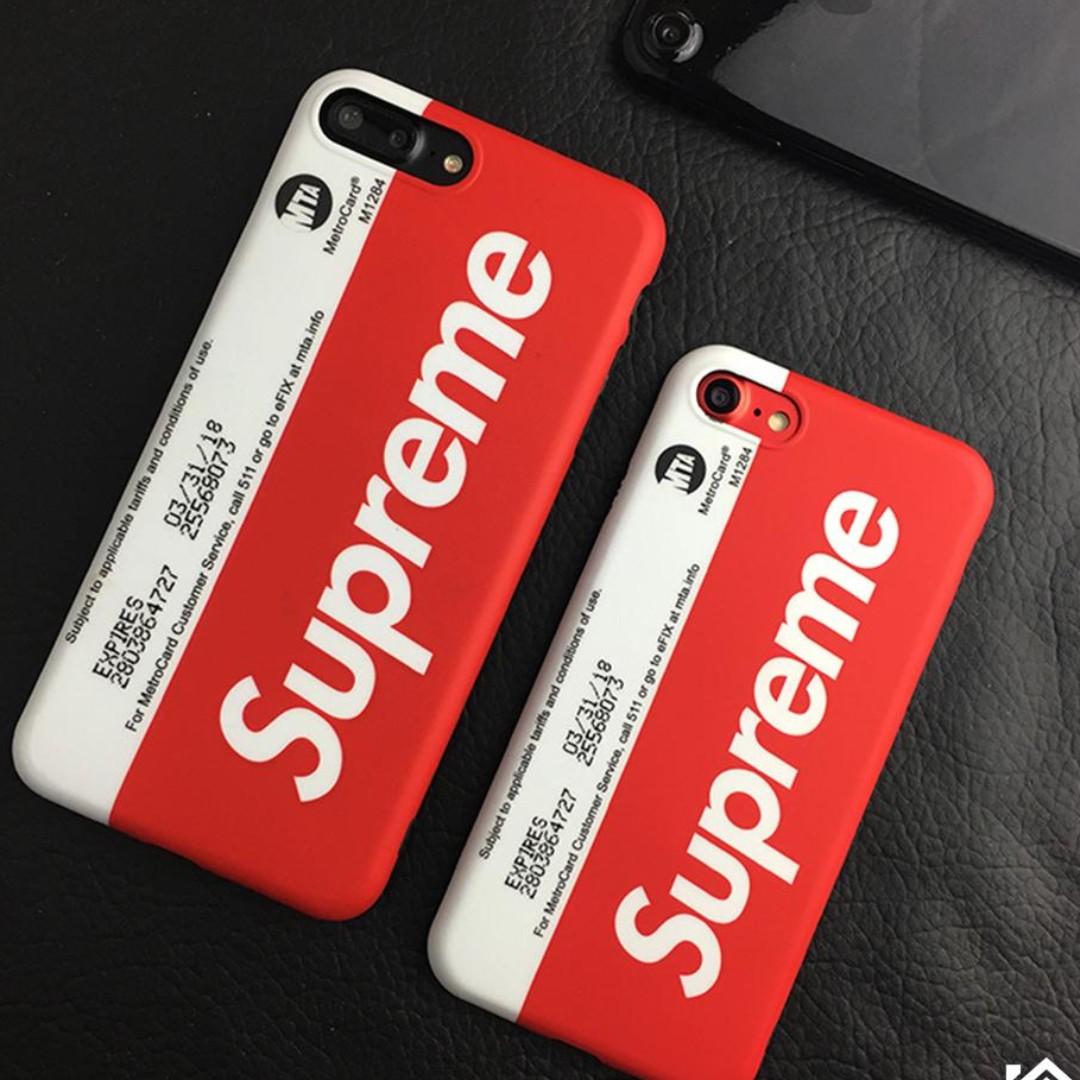 newest 07786 9f198 SUPREME metrocard PHONE CASE