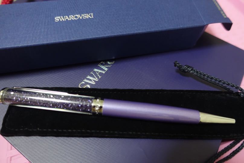6e2032ae1 Swarovski Crystalline Ballpoint Pen, Purple, Books & Stationery ...