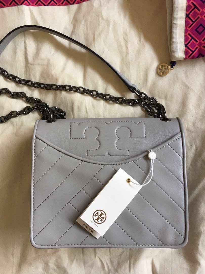 47258f1d82 Tory Burch Alexa Convertible Shoulder Bag Lambskin Leather, Luxury ...