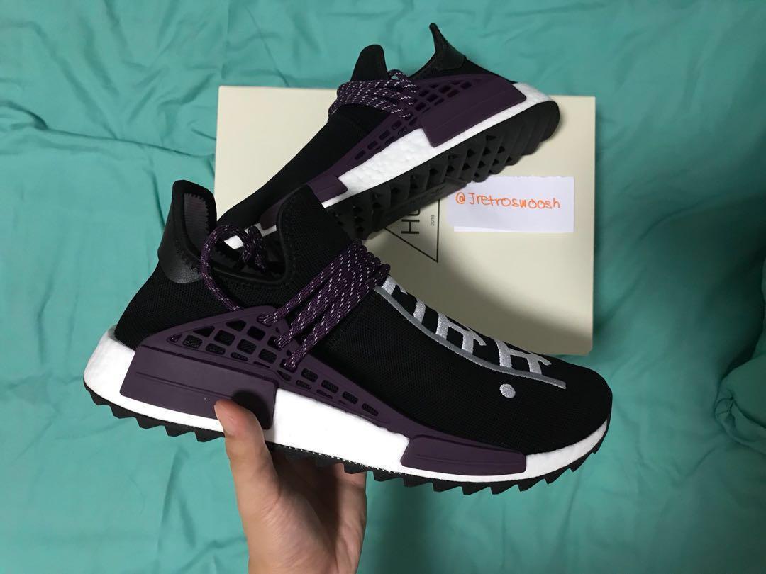 Pharrell x adidas NMD Human Race Core BlackDeepest Purple