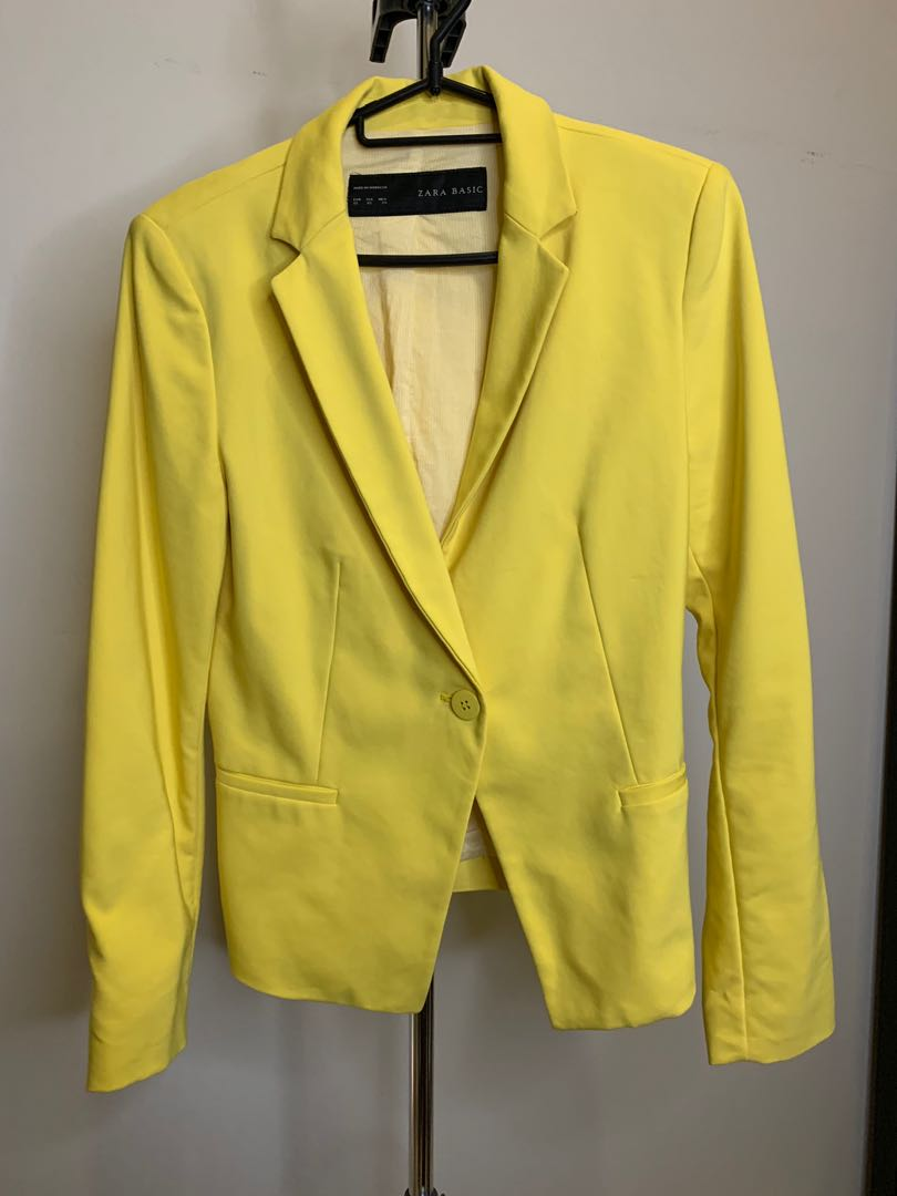 Zara Style Blazer Jacket Check Size Uk 8 Eu 36 Clothing, Shoes & Accessories