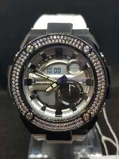 G steel customize watch