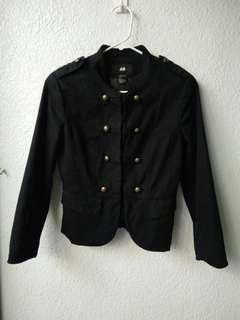 H&M Thick Black Jacket (free shipping)
