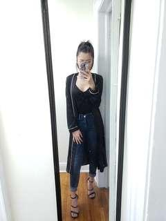 Misguided duster jacket