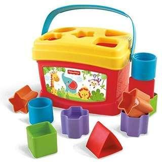 Fisher Price Baby's First Brilliant Blocks.