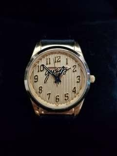 Authentic Vintage Guess Gold Watch from the 90s