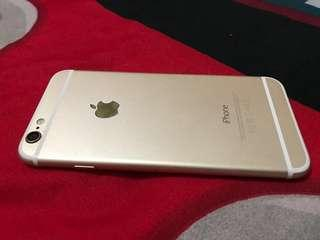 Iphone 6 64gb Gold Fullset Headset,Charge,Dusbook dll