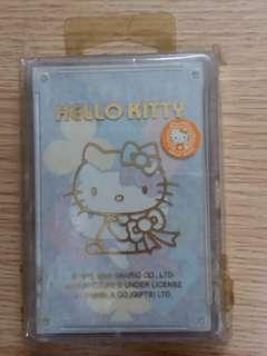 Sanrio Hello Kitty playing card 啤牌