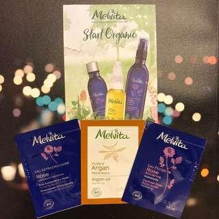 [HK$10/3包] Melvita 有機產品試用裝1套3包 Melvita organic product samples 1 set of 3pcs