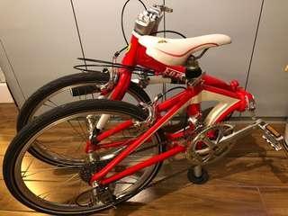 摺車folding bike