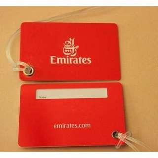 EMIRATES AIRLINES Luggage Tag