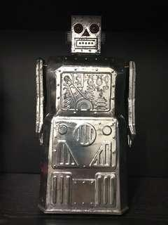 Limited edition tall Tin Robot