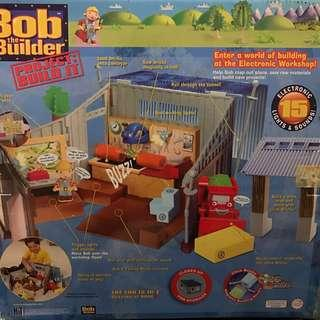 Bob the Builders interactive electronic workhouse playset