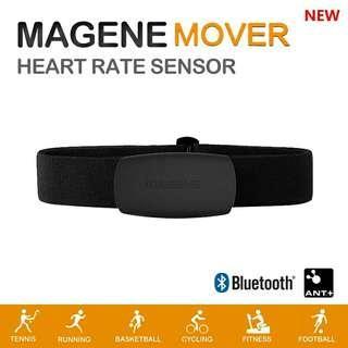 Magene MOVER ANT+ Bluetooth Heart Rate Monitor 心跳帶(Garmin、手機都用得