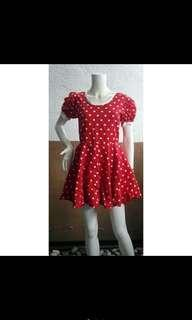 Mickey mouse dress costume