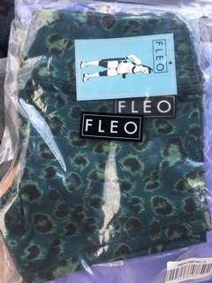 FLEO Night Leopard shorts Small (Aus 10-12)