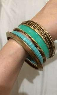 Bangles (used once)