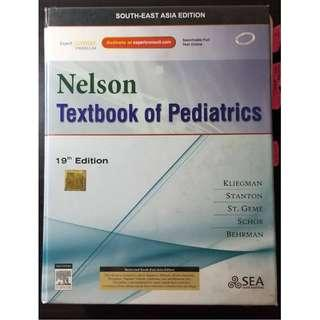 Nelson's Textbook of Pediatrics (19th Ed) With Student Consult [PRICE NEGOTIABLE]