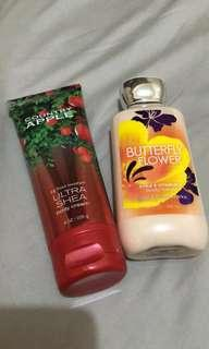 Bundle Body lotion (never used) P800 only for both