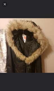 Faux fur size small jacket