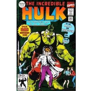 THE INCREDIBLE HULK #393 (1992) Foil cover