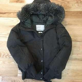 Aritzia community winter bomber jacket