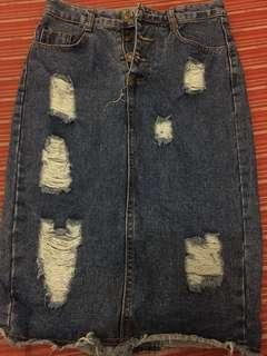 Denim Skirt (Size 26)