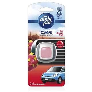 Ambi Pur Car Mini Clip Air Freshener - Thai Dragon Fruit