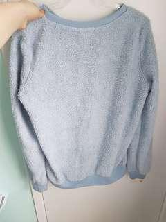 Mirrou baby blue sweater