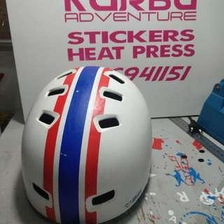 Helmet Netti untuk basikal,  kayak