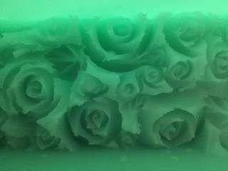 roses soap mold