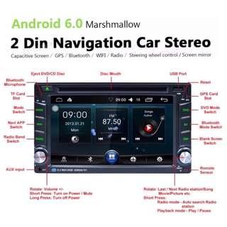 New Android (with DVD) Car Player - Radio, GPS, Wifi, Bluetooth, PlayStore, etc