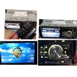 latest New 1 DIN Car LCD Player - Option to Add Remote Steering Control or Reverse Camera