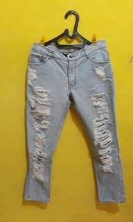 jeans repeat boy friend