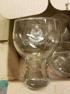 警察啤酒杯6隻