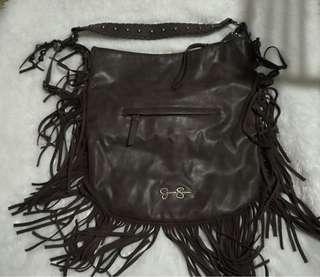 authentic Jessica Simpson leather bag