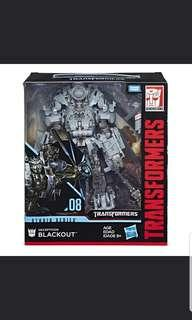 Transformers studio series 08 blackout