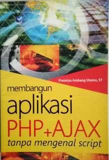 Buku Membangun Aplikasi PHP + Ajax tanpa mengenal script