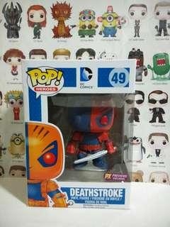 🚚 Funko Pop Deathstroke PX Exclusive Vinyl Figure Collectible Toy Gift Movie Comic DC