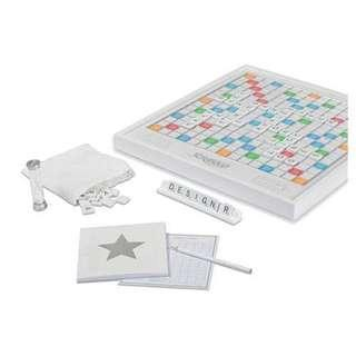 SCRABBLE PEARL EDITION, Used, Excellent Condition, No Box