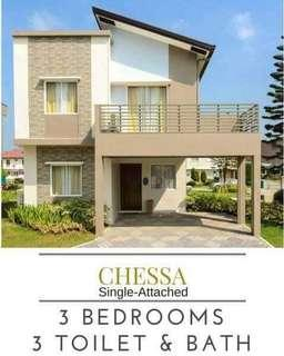 CHESSA SINGLE ATTACHED HOUSE AND LOT READY FOR OCCUPANCY