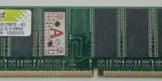 Memory Komputer Merk Dynet 512MB DDR333