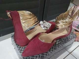 Parisian Maroon Shoes