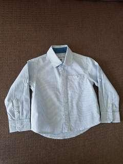 New but washed long sleeve for baby boy size 6